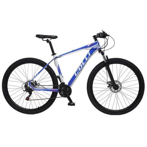 Bicicleta Colli Bike F11 Aro 29 Susp. Dianteira 21 Marchas - Azul