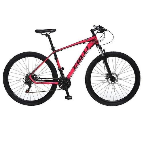 Bicicleta Colli Bike F11 Aro 29 Susp. Dianteira 21 Marchas - Rosa