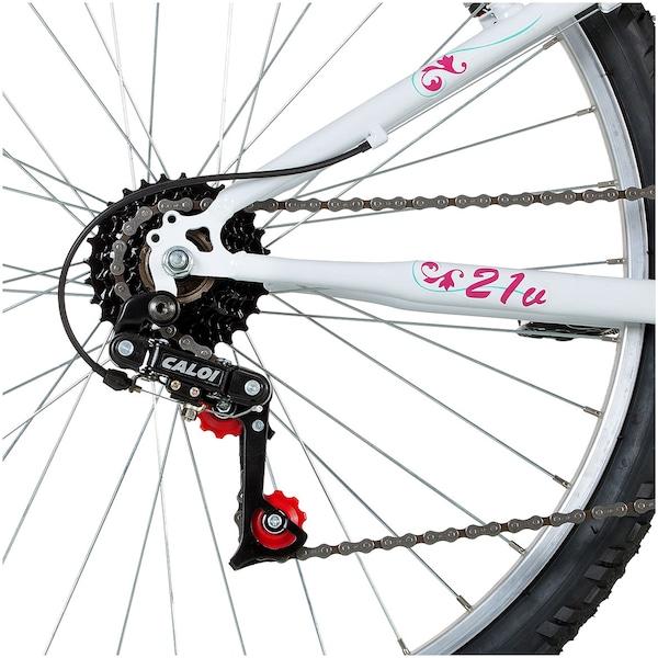264af1916 Bicicleta Caloi Ventura - Aro 26 - Freio V-Brake - Câmbio Traseiro Caloi -  21 Marchas - Feminina