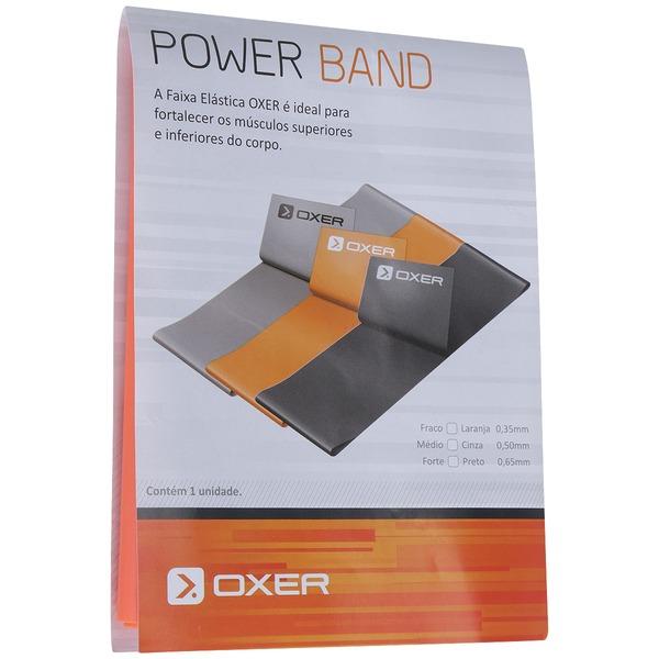 Faixa Elástica Oxer Power Band Leve