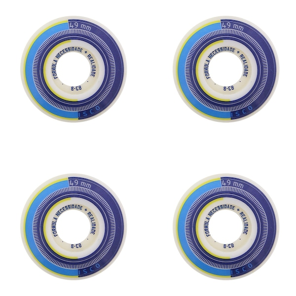 Rodas de Skate Cisco FN R Series - 49 mm - 4 unidades
