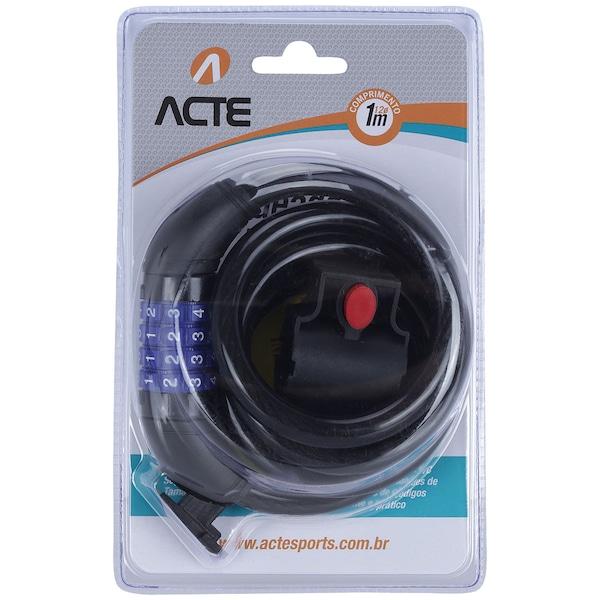 Cadeado para Bicicleta com Segredo Acte Sports A16