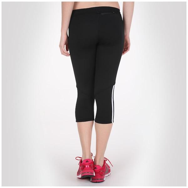72fe5e97100b9 Calça Legging Corsário Adidas Response - Feminina