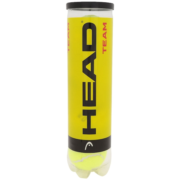 Bola de Tenis Head Team Kit com 4 Bolas 575904