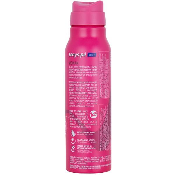 Desodorante para os Pés Tenys Pé Baruel Woman - Jato Seco - 150ml
