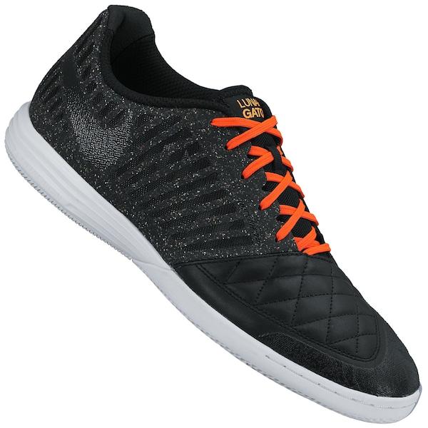 c1b7aff6eda1c Chuteira De Futsal Nike5 Lunargato II IN