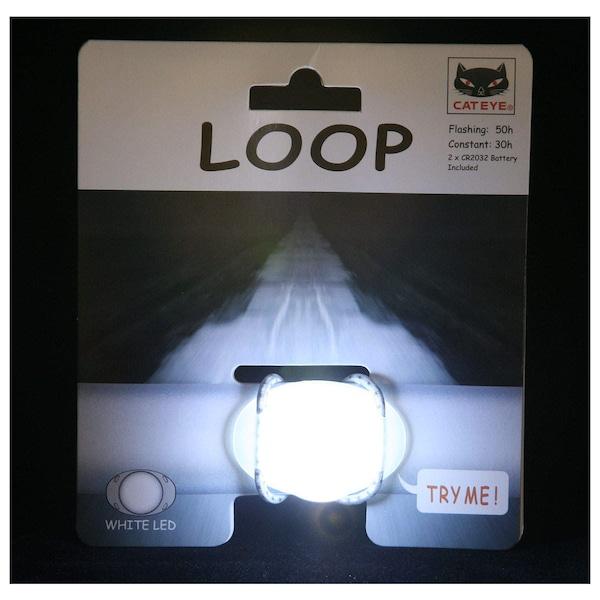 Pisca Cateye Light SL-LD 110 Loop White