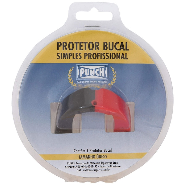 Protetor Bucal Punch Dual Color - Adulto