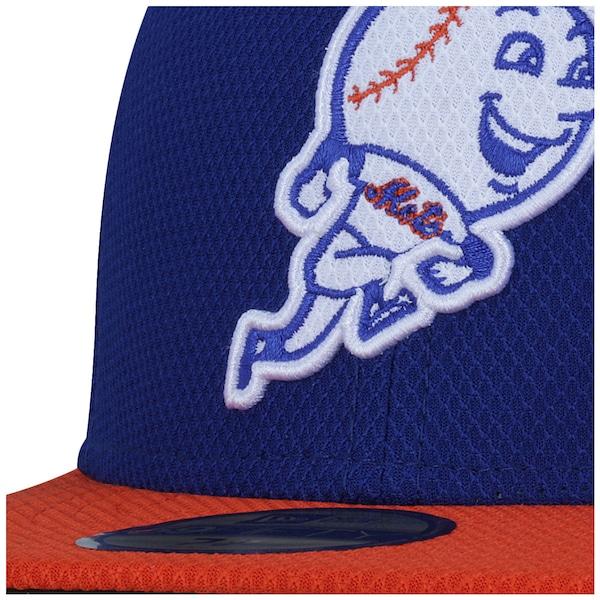 a5ccf8e861eda ... Boné Aba Reta New Era New York Mets MLB Mr. Met - Fechado - Adulto ...