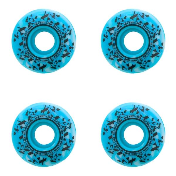 Rodas de Skate Solo Decks Blue Sky - 53mm - 4 Unidades