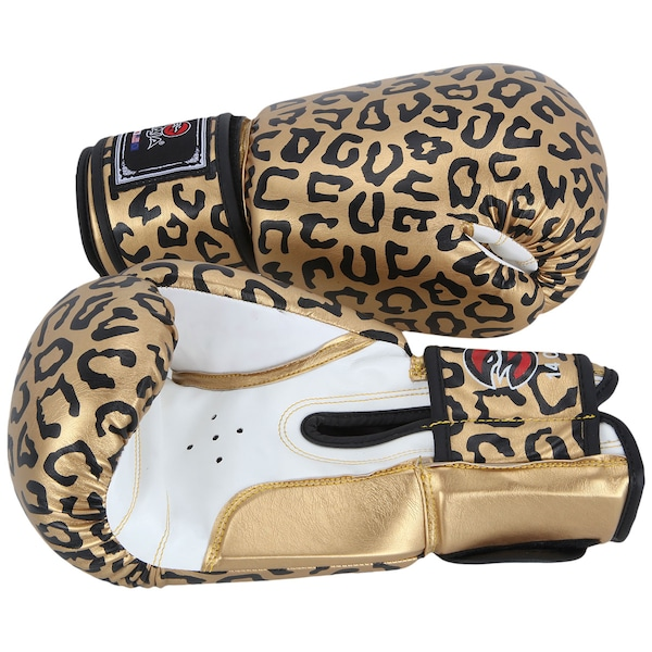 145704e2f ... Luvas de Boxe e Muay Thai Naja Onça 14 OZ - Adulto