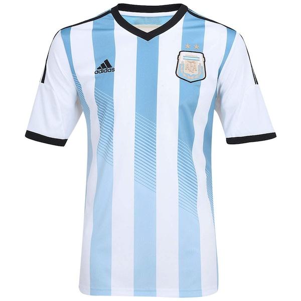 412a370bb9a11 Camisa Adidas Seleção Argentina I s n 2014 - Torcedor