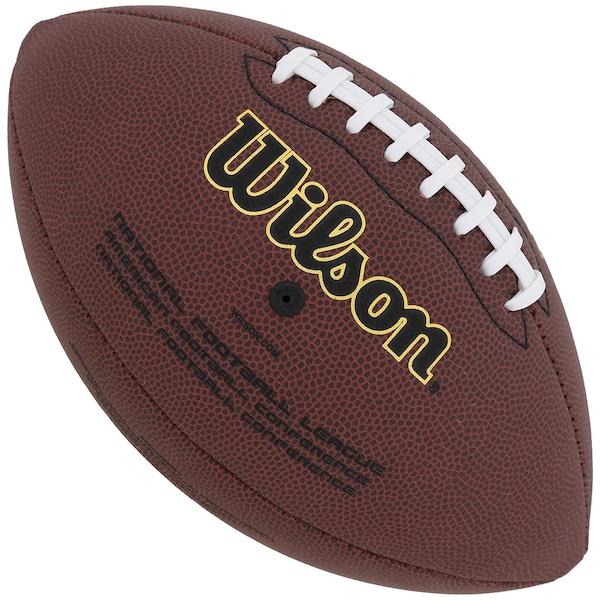bcbb45f1011f8 Bola de Futebol Americano Wilson NFL Super Grip Cover