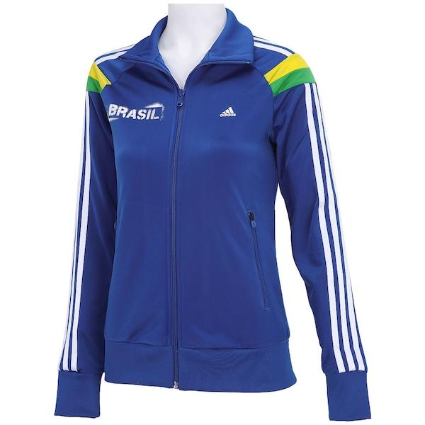 dce70c0d4c6 ... Jaqueta adidas Brasil Wc14 - Feminina ...