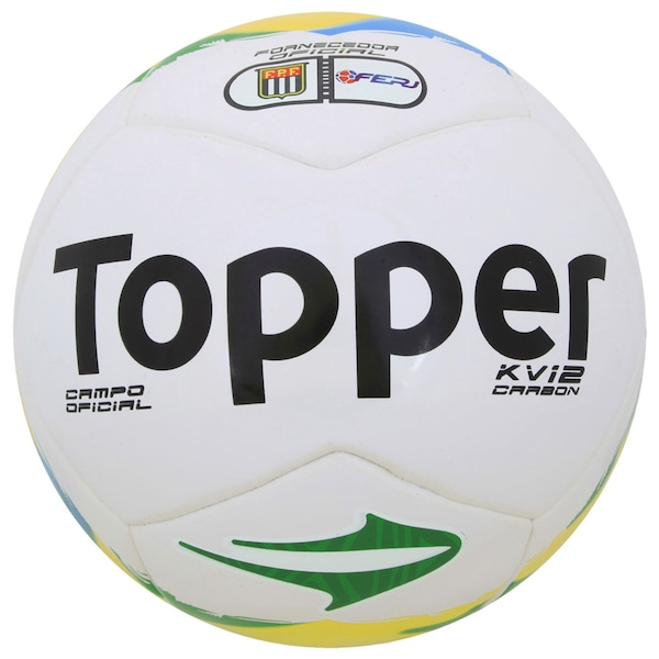 Bola de Futebol de Campo Topper KV Carbon League 14
