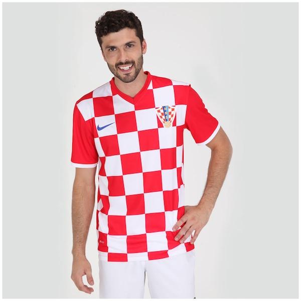 1671cf8b8 Camisa Nike Seleção Croácia s n 2014 Torcedor
