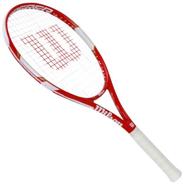 0508d9478 Raquete de Tenis Wilson Federer Team 105
