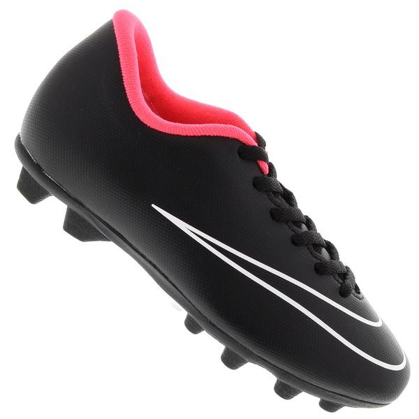 fe045cbeb9 Chuteira de Campo Nike Mercurial Vortex - Infantil - Flamengo Loja