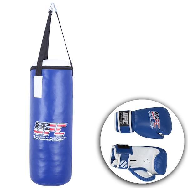 Kit De Boxe UFC Saco de Pancada e Luva USA – Juvenil