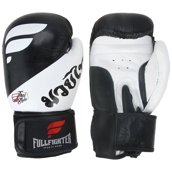 Luvas de Muay Thai Full Fighter Style PRO Premium - 16 OZ - Adulto