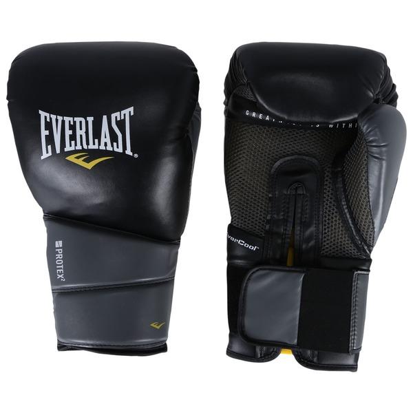 Luvas de Boxe Everlast Pro Protex 2 Evergel 16 OZ - Adulto