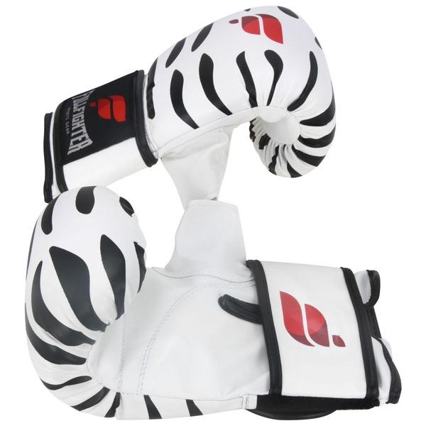 Luvas de Bate Saco Full Fighter Cardio Zebra