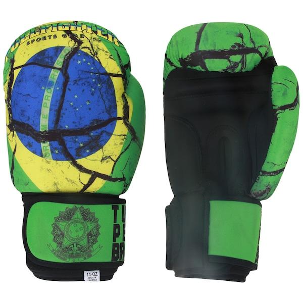 Luvas de Boxe Full Fighter Laváveis Training Brasil 14 OZ