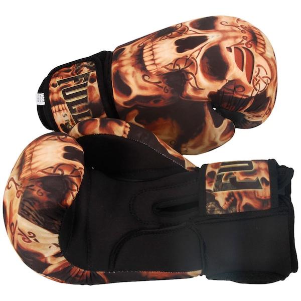 Luvas de Boxe Full Fighter Laváveis Training Skull 14 OZ