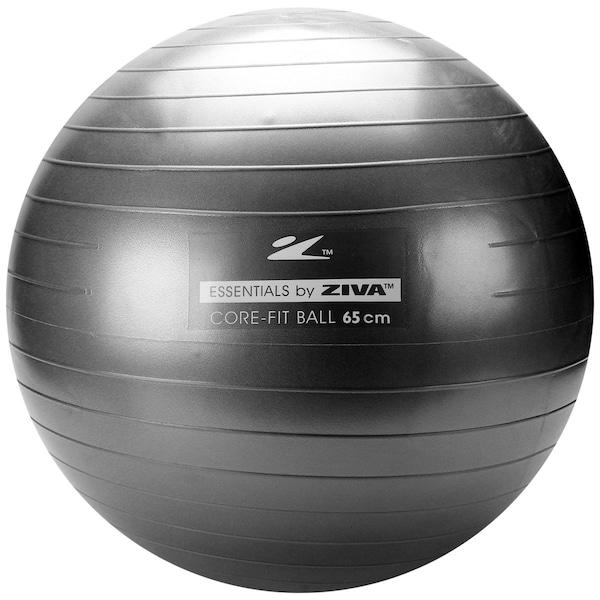 Bola de Pilates Suiça Ziva Anti-Estouro - 65 cm