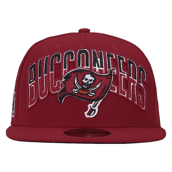 Boné Aba Reta  New Era  Tampa Bay Buccaneers - Fechado -  Adulto