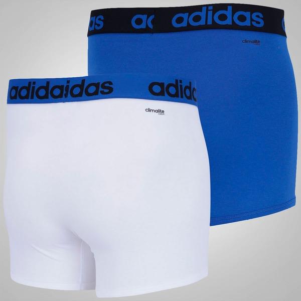 Cueca adidas Essentials Boxer Kit Com 2 Unidades – Adulto