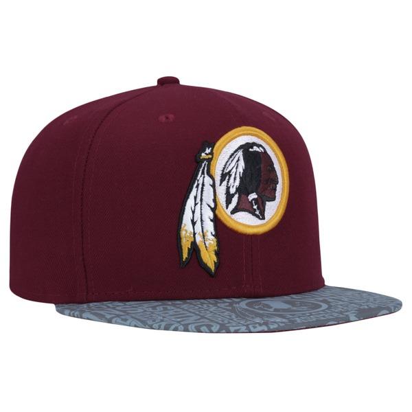 Boné Aba Reta New Era 59FIFTY Washington Redskins - Fechado - Adulto
