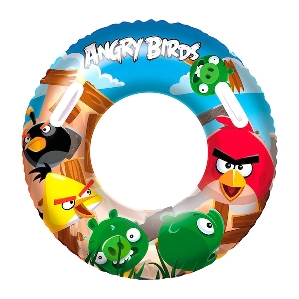 Bóia Circular Bestway Angry Birds - Infantil