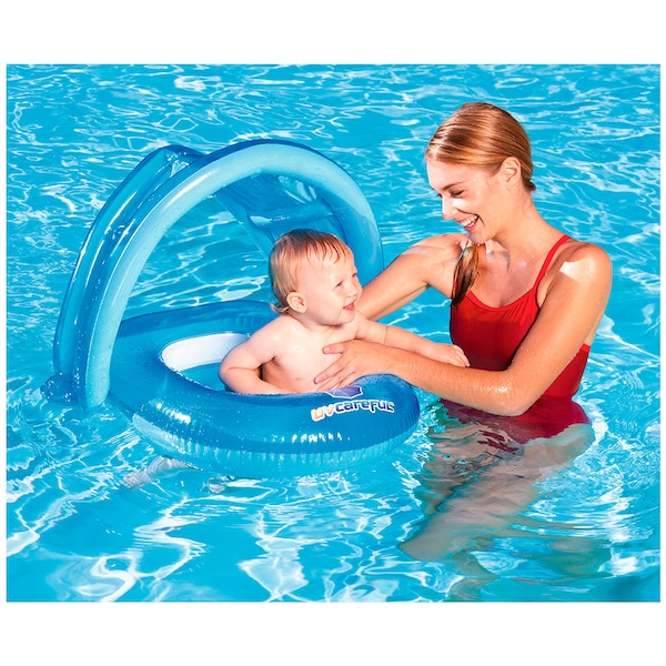 Bote Inflável para Bebê com Assento e Cobertura Bestway Baby Care - Infantil