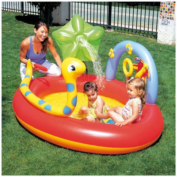 Piscina Inflável Bestway Play Center Animais 160 Litros - Infantil