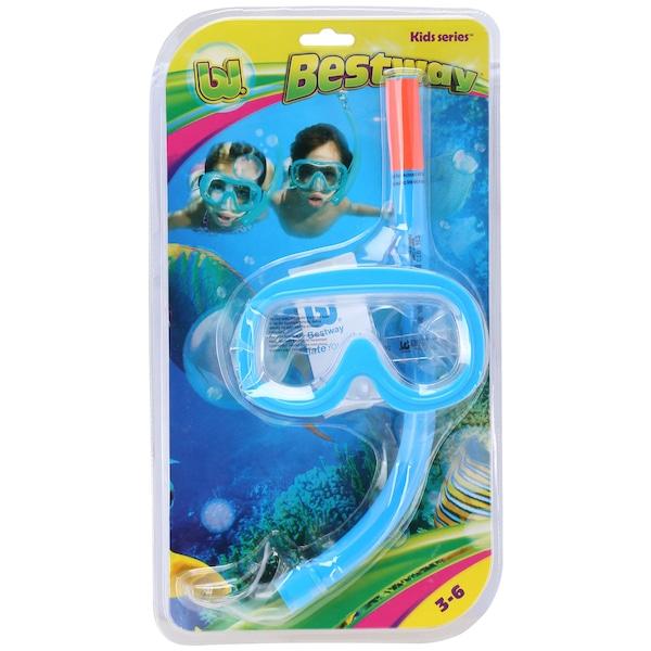 Kit de Mergulho Bestway - Máscara e Snorkel - Infantil