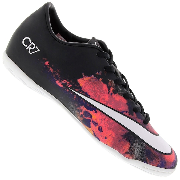 finest selection b6e50 7c8dc Chuteira de Futsal CR7 Nike Mercurial Victory V IC