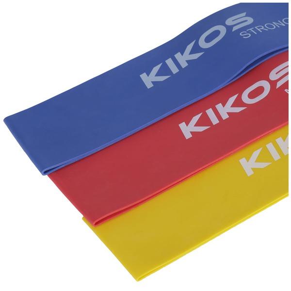 Mini Faixa Elástica Kikos Kit Com 3 Unidades