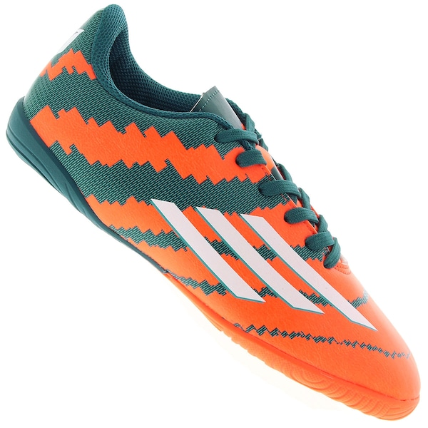 Chuteira do Messi Futsal adidas F10 IN - Infantil 25c3d502da76c
