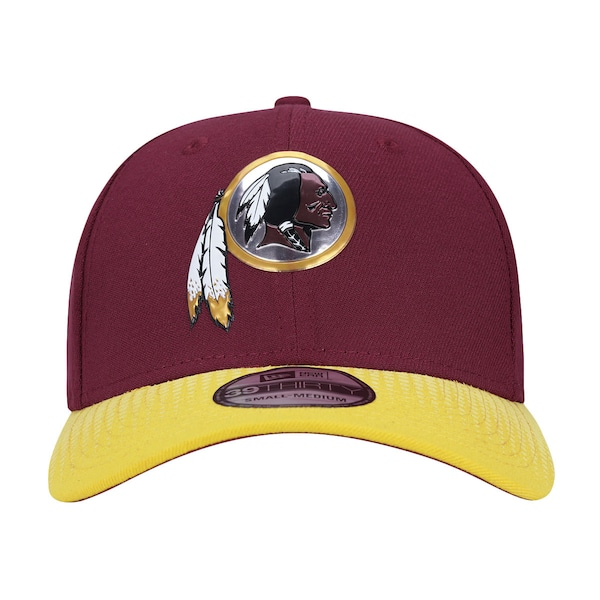 Boné New Era 39THIRTY Washington Redskins NFL Red-Yellow - Fechado - Adulto