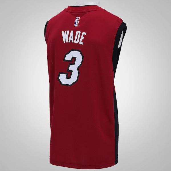 6455ea477 ... Camiseta Regata adidas NBA Miami Heat - Masculina