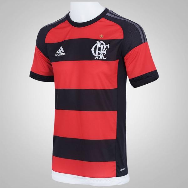 2e2ed590ed6f8 ... Camisa do Flamengo I 15 16 com Patrocínio adidas - Masculina ...