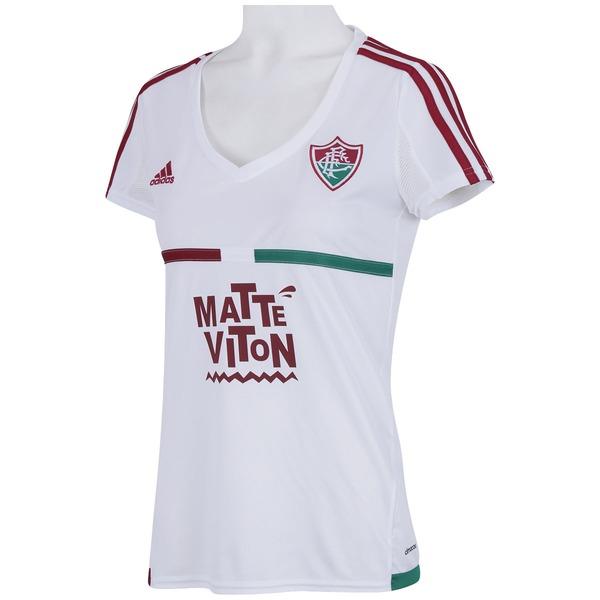 01ab56a35aeb8 ... Camisa do Fluminense II 2015 s nº adidas - Feminina ...