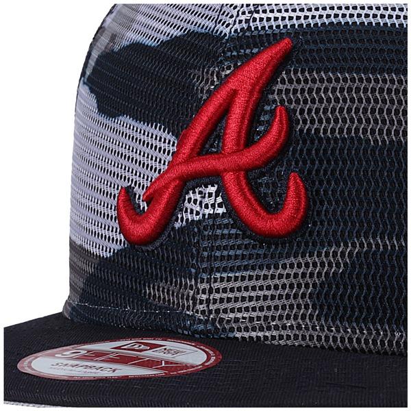 Boné Aba Reta New Era Atlanta Braves - Snapback - Trucker - Adulto
