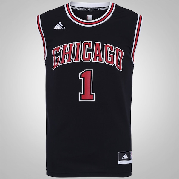 0bb8cfe91 Camiseta Regata adidas NBA Chicago Bulls - Masculina ...