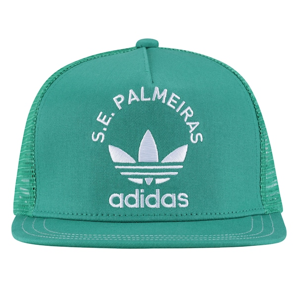 Boné Aba Reta adidas Palmeiras Originals - Snapback - Trucker - Adulto