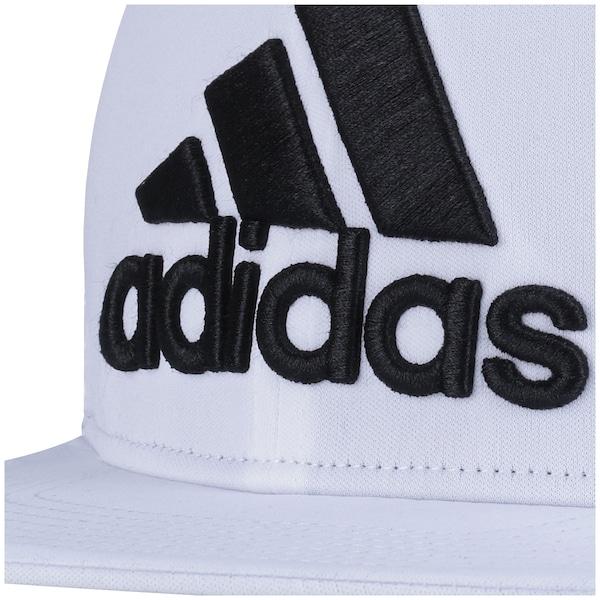 Boné Aba Reta adidas Logo Flat Fitted - Fechado - Adulto