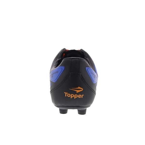 2b494e42121d2 Chuteira de Campo Topper Champion IV FG - Adulto