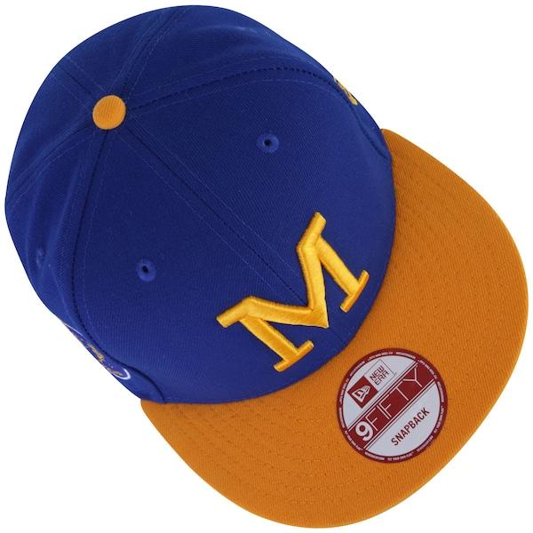 Boné Aba Reta New Era Milwaukee Brewers - Snapback - Adulto