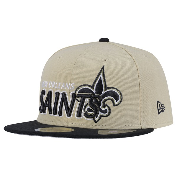 Boné Aba Reta New Era New Orleans Saints - Fechado - Adulto